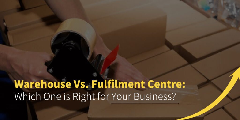 warehouse vs. fulfillment center