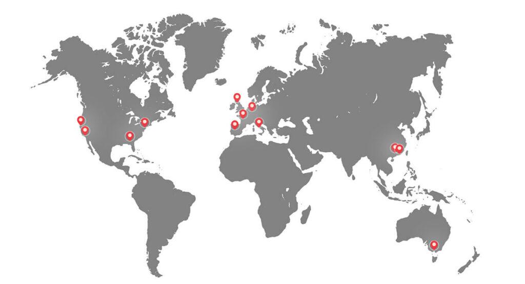 NextSmartShip Fulfillment Center Locations