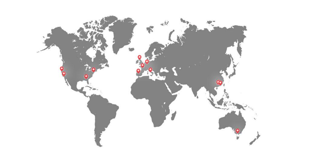 Global Fulfillment Centers of NextSmartShip