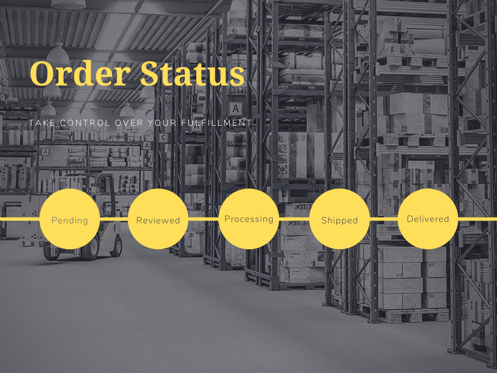 Order Status - Take Control Over Your Fulfillment
