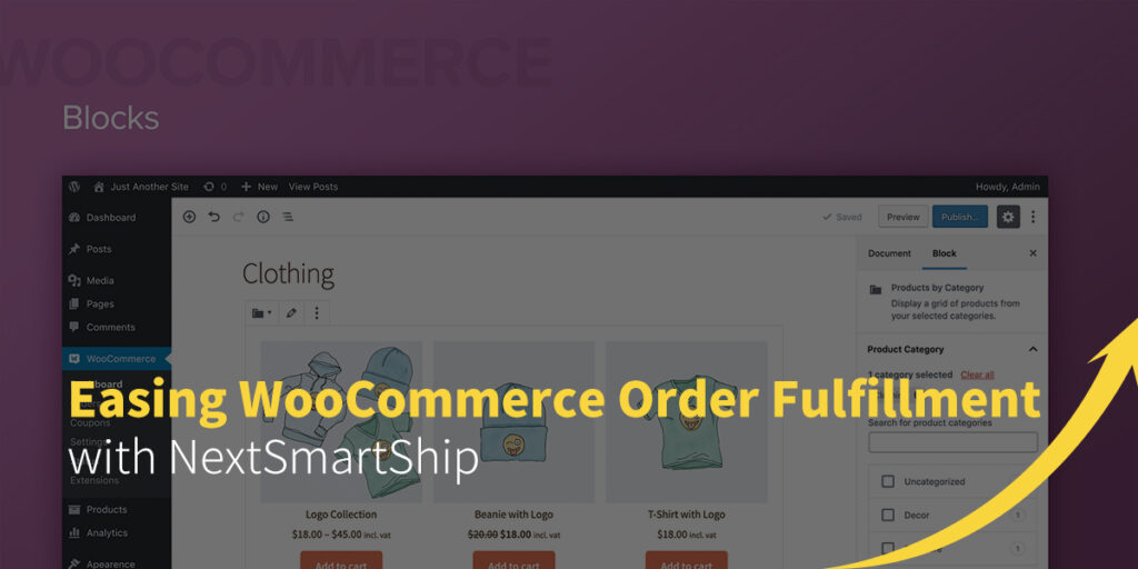 Easing WooCommerce Order Fulfillment with NextSmartShip