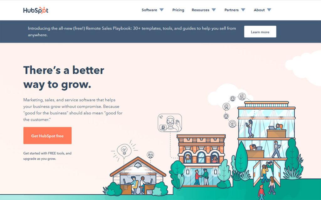 HubSpot Official Website