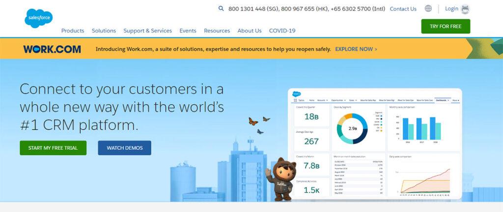 salesforce offical website